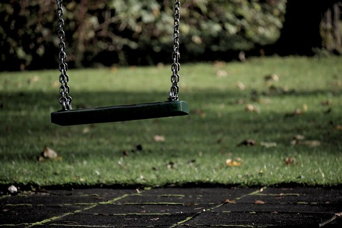 sounds of a playground fading | by phortx
