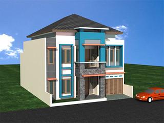 desain rumah minimalis karawaci tangerang | desain rumah