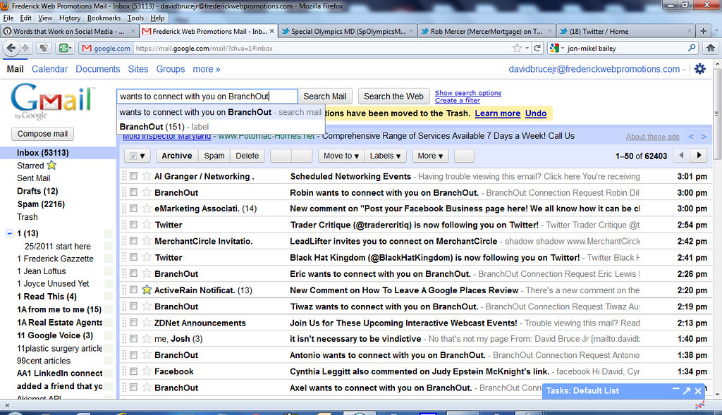 How to block unwanted email in gmail