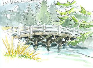 Hinch Bridge, South Slough, OR