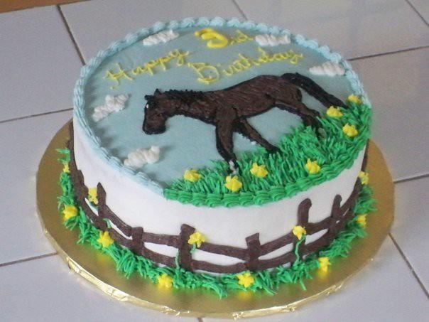 Awe Inspiring Horse Birthday Cake Kgyurisin Flickr Funny Birthday Cards Online Necthendildamsfinfo