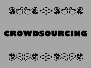 Buzzword Bingo: Crowdsourcing = Content developed by a group of people or community | by planeta