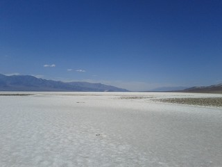 Walking around at Badwater - we never sweated that hard   by Michael Voelker