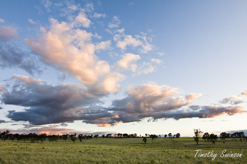 sunset sky nature clouds landscape australia queensland toowoomba
