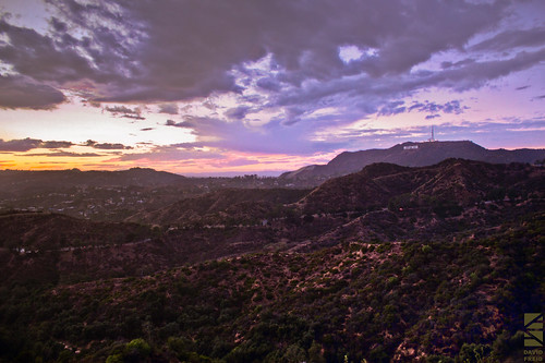 california sunset mountain clouds canon landscape photography losangeles hills hollywood hollywoodsign griffithpark griffithobservatory