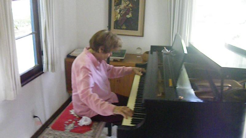 Badass Amah plays Chopin