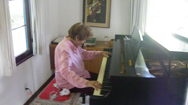 Badass Amah plays Chopin