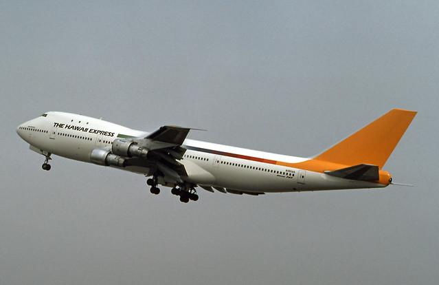 Hawaii Express, Boeing 747-100