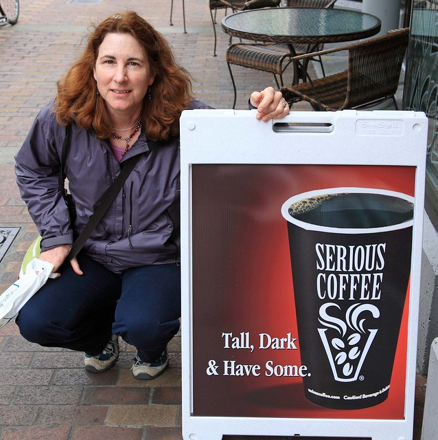 Looking for a tall, dark Coffee Man