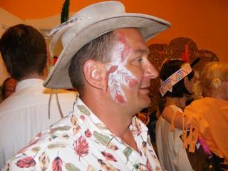 Harlekin Berlin Cowboy Feder Kinderschminken Harlekinberlin Flickr