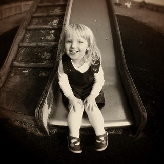 My lovely niece. As always, I'm completely smitten