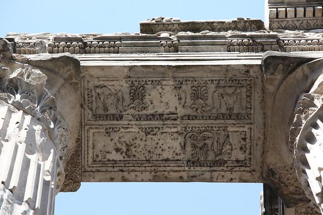Apollo Medicus Sosianus: soffit decoration