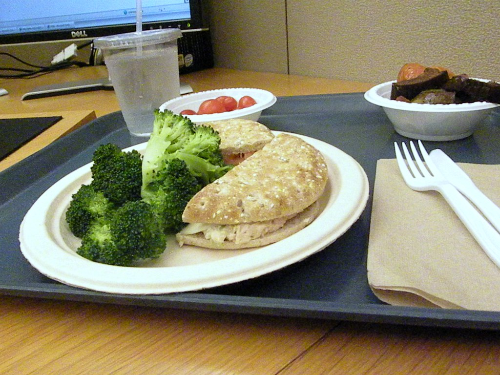 Day 263 - Lunch At My Desk