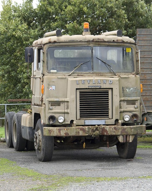 Leyland Crusader Truck at Military Museum in the Isle of Wight