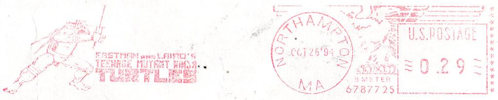 MIRAGE PUBLISHING :: 'MUTATIONS' newsletter V.2 #2 / FALL 1994  i (( 1994 )) // postmark by tOkKa
