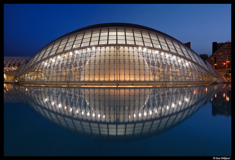 The eye of Valencia by Dan Wiklund