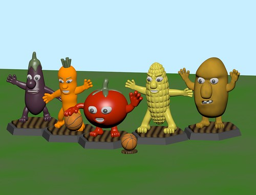 The Botanicals - Fantasy Basketball Team | by LostInBrittany