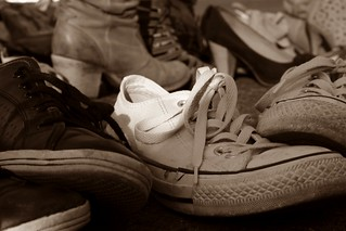 Friendship and old shoes | by Paulina T. Photography