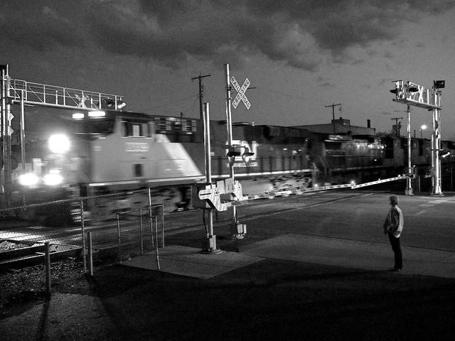 Railroad Crossing, Billings, Montana