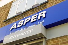 Asper acrylic logo