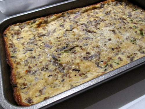 Mushroom Casserole | by The Meanest Momma