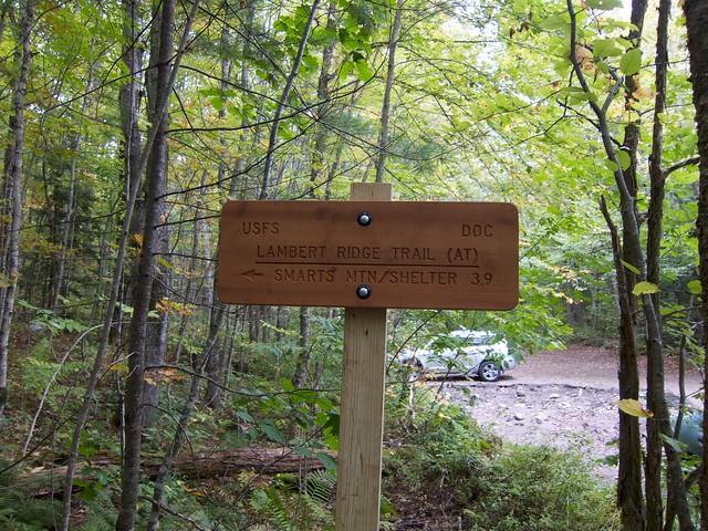 0:04:23 (2%): sign hiking newhampshire smartsmountain lambertridge lambertridgetrail