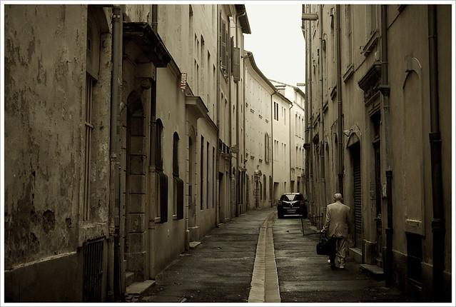 Une rue a Nïmes