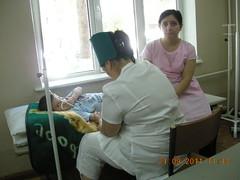 poliochemoteraphy at hospital (uzbekistan)