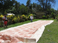 ma, 18/10/2010 - 02:06 - 034. Tapa voor een bruiloft, Tongatapu, Tonga