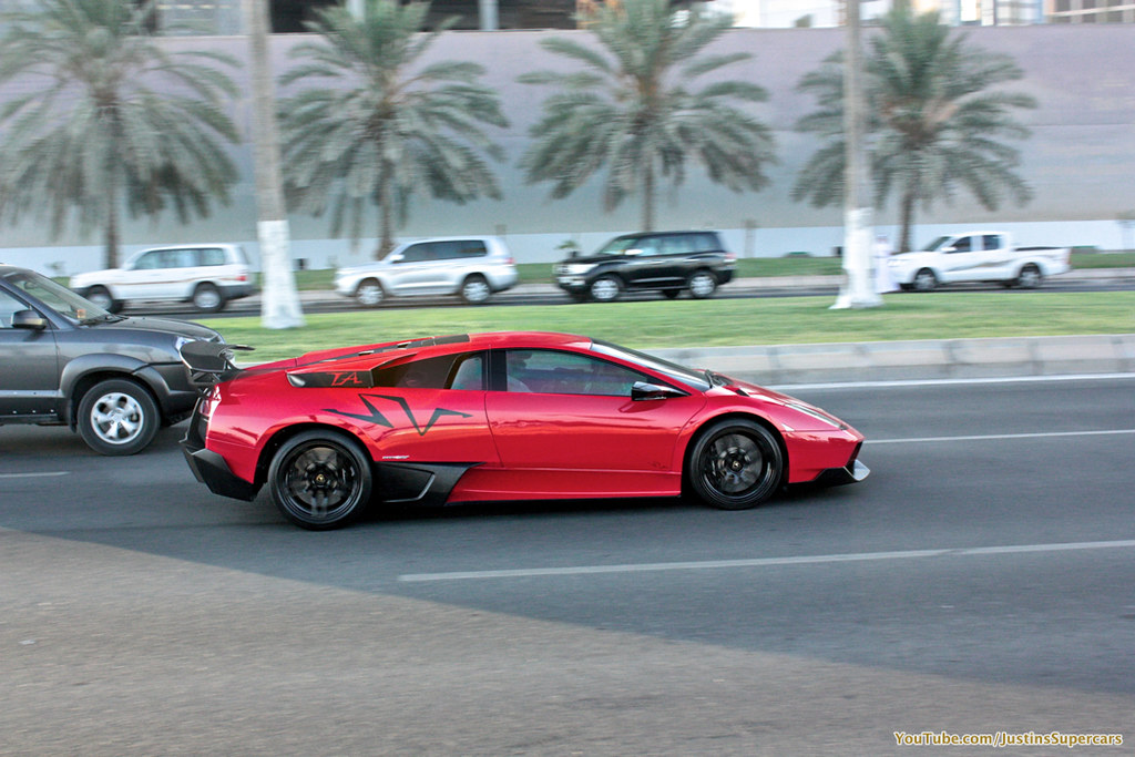 Red Bull Part 1 Car Lamborghini Murcielago Lp670 4 Sv Loc Flickr