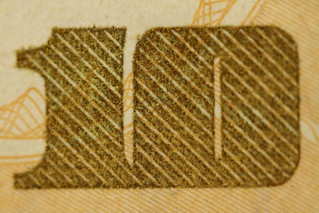 Macro Ten Dollar Bill | by Gamma Man