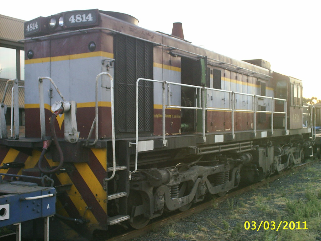 ALCo/Goodwin DL531G 4814 at Yennora, NSW