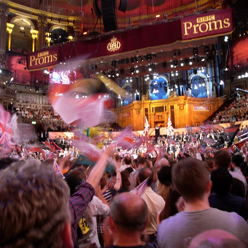 In the arena at the Last Night of the Proms | by Steve Bowbrick