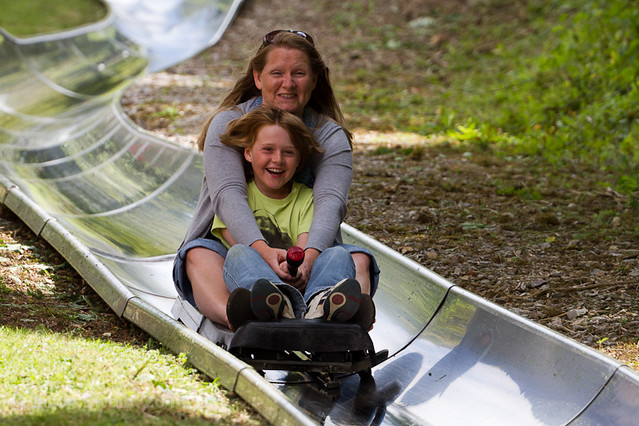 Toboggan Run - Scream if you want to go faster