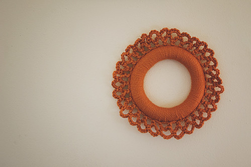 259.365: the simple statement wreath | by Lisa | goodknits