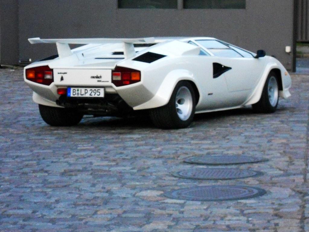 Lamborghini Countach 5000 Quattrovalvole 1985 1987 Flickr