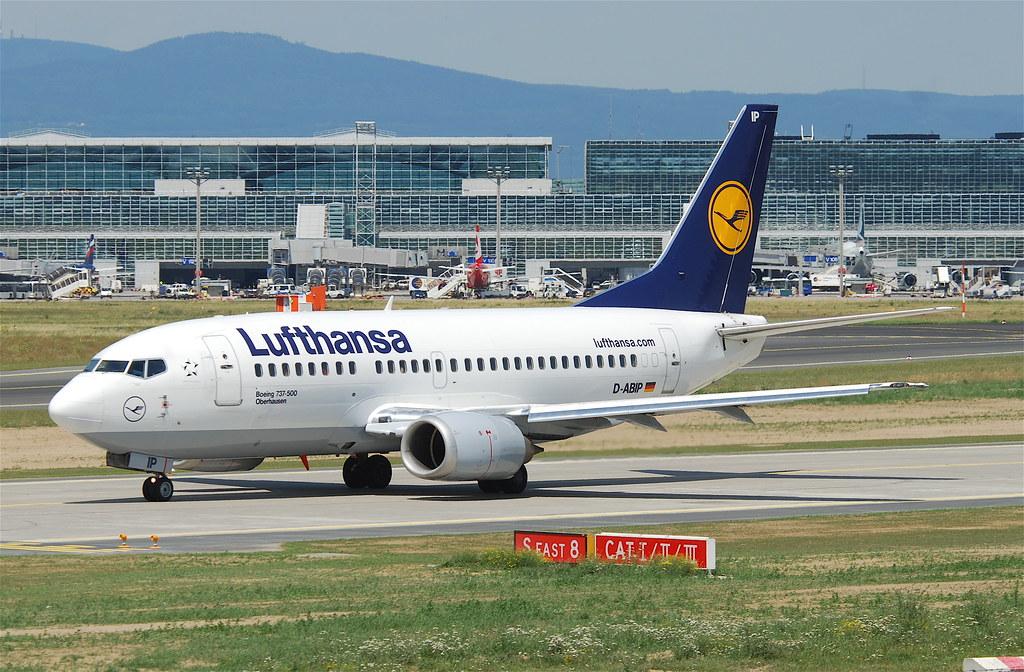 Lufthansa Boeing 737 500 D Abip Fra 16 07 2011 609go Flickr