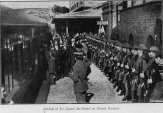 Arrival of Sir Gerald Strickland at Mount Victoria