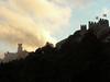 Výhled z Castelo dos Mouros na Palácio da Pena, foto: Petr Nejedlý
