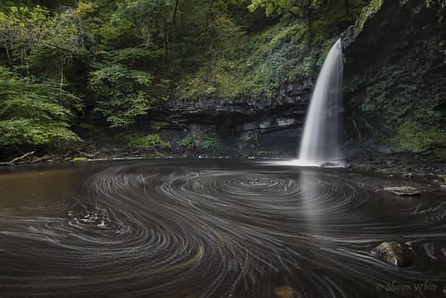 longexposure water wales forest woodland river waterfall rocks stream place unitedkingdom glynneath shawnwhite sgwdgwladus streamriver canon6d afonpyrddin riverpyrddin shawnraisindp ladyswaterfall