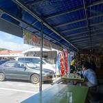 lunch @『おんなの駅 なかゆくい市場』(沖縄県恩納村) また来た。
