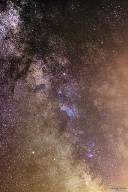 In the Heart of the Milky Way - Summer 2015 [Explored]