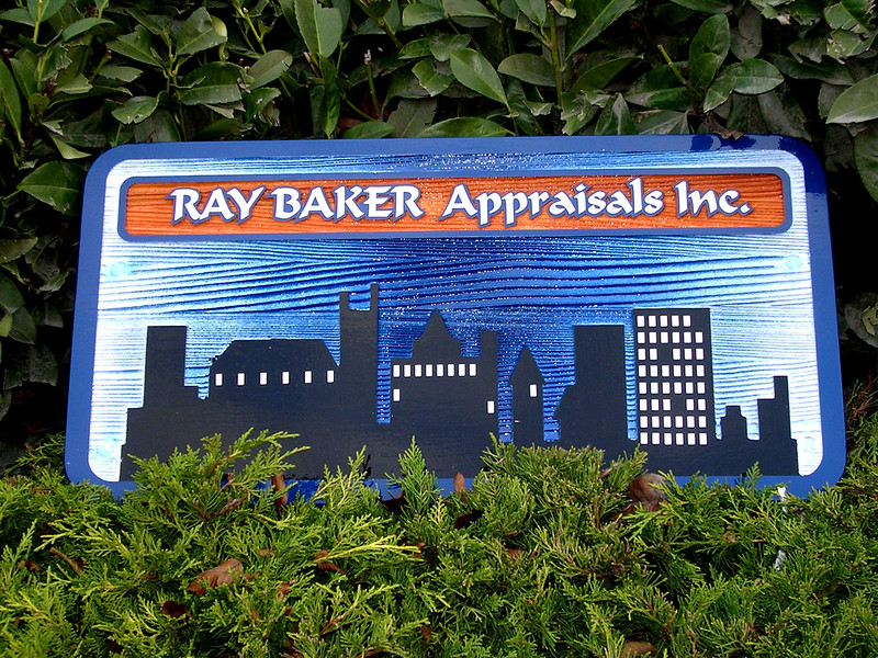 Ray Baker Appraisals Sandblast  or router