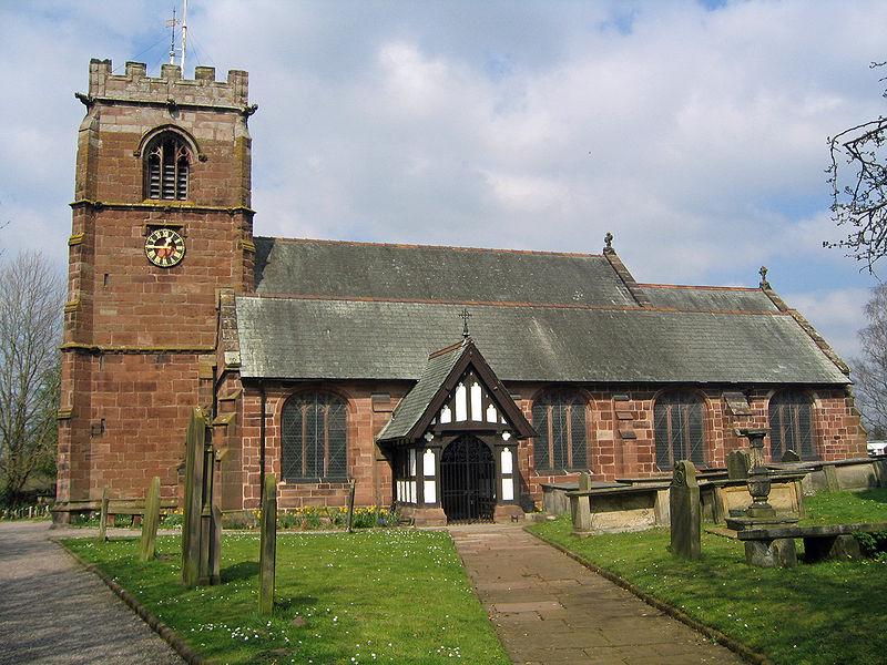 TATTENHALL, St Alban, Cheshire