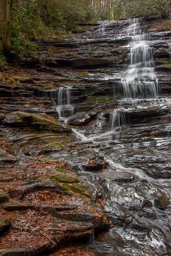 rabuncounty georgia ga waterfall minnehaha