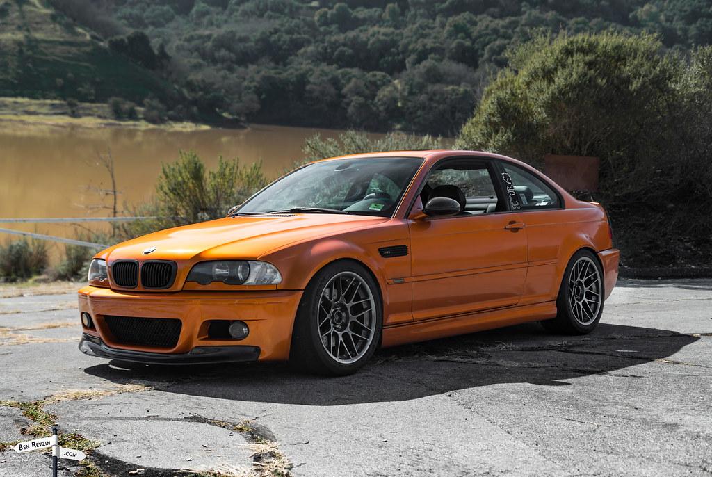 Bmw M3 In Orange