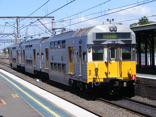 Cityrail 3751 Wollongong 25.02.10 | by Andys Trains
