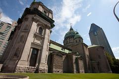Cathédrale Marie-Reine-du-Monde (side)