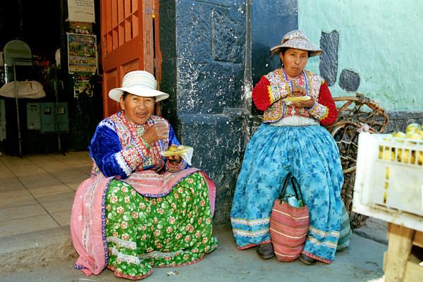 Peru Travel Photography Reisfotografie Chivay Peru.076 by Hans Hendriksen