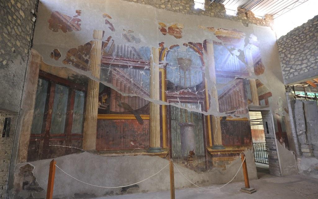 Villa Poppaea, Oplontis   The Villa Poppaea is a Roman villa